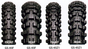 IRC GS 45 Tyres